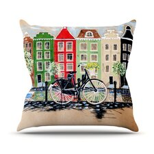 Bicycle Outdoor Throw Pillow