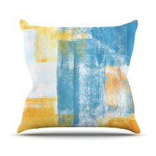 Color Combo Outdoor Throw Pillow