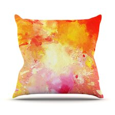Great Reviews Splash by CarolLynn Tice Outdoor Throw Pillow