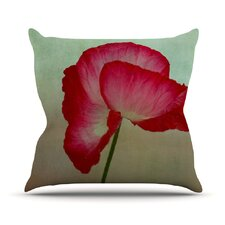 La Te Da by Robin Dickinson Outdoor Throw Pillow
