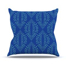 Laurel Leaf Outdoor Throw Pillow