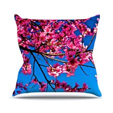 Flowers by Maynard Logan Outdoor Throw Pillow