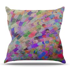 Discount Abstract by Marianna Tankelevich Outdoor Throw Pillow