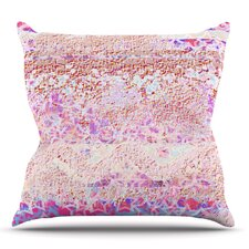 #1 Broken Pattern by Marianna Tankelevich Outdoor Throw Pillow