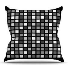 Plocica by Trebam Outdoor Throw Pillow