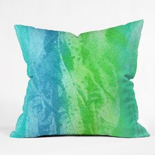 Caribbean Sea by Laura Trevey Indoor/Outdoor Throw Pillow