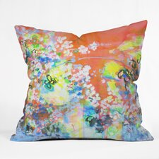 Coral Delight Outdoor by Laura Trevey Throw Pillow