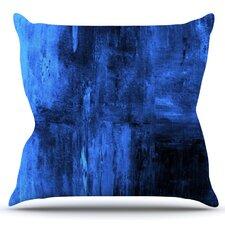 Deep Sea by CarolLynn Tice Outdoor Throw Pillow
