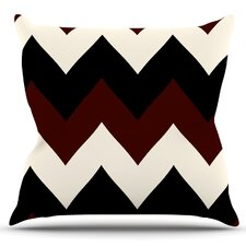 Herry Up Oxfords and Button Ups by Catherine McDonald Outdoor Throw Pillow