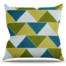 Mediterranean by Catherine McDonald Outdoor Throw Pillow