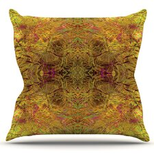 2017 Online Goldenrod by Nikposium Outdoor Throw Pillow