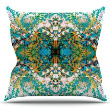 Summer Breeze by Nikposium Outdoor Throw Pillow
