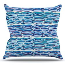 The High Sea by Pom Graphic Design Outdoor Throw Pillow