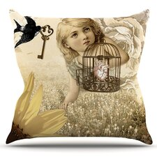 Key by Suzanne Carter Outdoor Throw Pillow