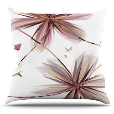 Flower by Alison Coxon Outdoor Throw Pillow