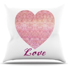 Find Love by Pom Graphic Design Outdoor Throw Pillow