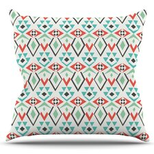 Tribal Marrakech by Pom Graphic Design Outdoor Throw Pillow