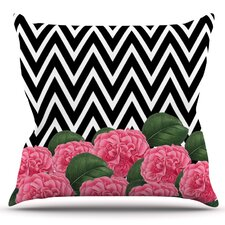 2017 Sale Camellia by Suzanne Carter Outdoor Throw Pillow