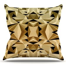 Abstraction by Nika Martinez Outdoor Throw Pillow