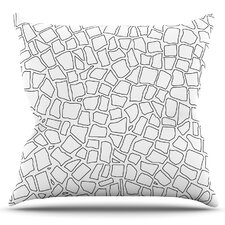 British Mosaic by Project M Outdoor Throw Pillow