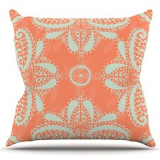 Motifs by Nandita Singh Outdoor Throw Pillow