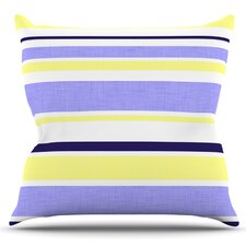 Jack Tar by Alison Coxon Outdoor Throw Pillow