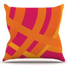 Reviews Tangled by Fotios Pavlopoulos Outdoor Throw Pillow