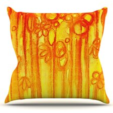 Summer Sentiments by Ebi Emporium Outdoor Throw Pillow