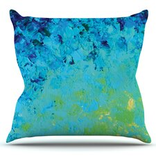 Lovely True Reflection by Ebi Emporium Outdoor Throw Pillow