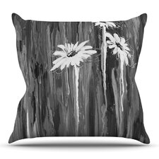 Daises by Brienne Jepkema Outdoor Throw Pillow