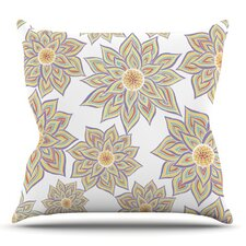 Floral Dance by Pom Graphic Design Outdoor Throw Pillow