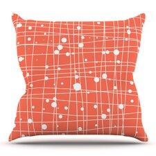 Woven Web by Budi Kwan Outdoor Throw Pillow