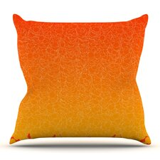 Bubbling by Frederic Levy-Hadida Outdoor Throw Pillow