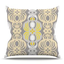 Chalene by Gill Eggleston Outdoor Throw Pillow