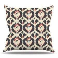 Moonrise Abikat by Amanda Lane Outdoor Throw Pillow
