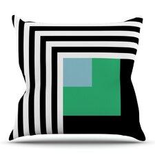 Kutovi by Trebam Outdoor Throw Pillow