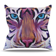 Coupon Tiger by Brienne Jepkema Outdoor Throw Pillow
