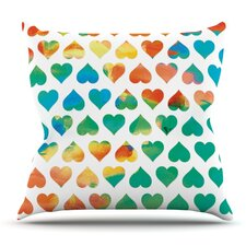 Cool Be Mine by Budi Kwan Outdoor Throw Pillow