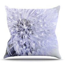 Lavender Wish by Debbra Obertanec Outdoor Throw Pillow