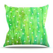 Sprinkles by Rosie Brown Outdoor Throw Pillow