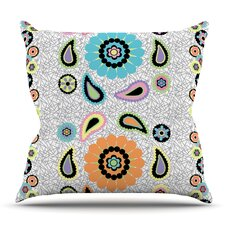 Moda Paisley by Nina May Outdoor Throw Pillow
