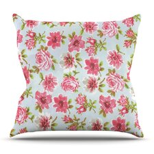Petals Forever by Heidi Jennings Outdoor Throw Pillow