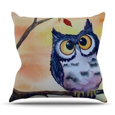 Hootie Cutie by Padgett Mason Outdoor Throw Pillow