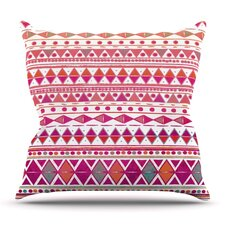 Summer Breeze by Nika Martinez Outdoor Throw Pillow
