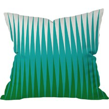 Caroline Okun Clover Outdoor Throw Pillow