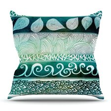 Dreamy Tribal by Pom Graphic Design Outdoor Throw Pillow