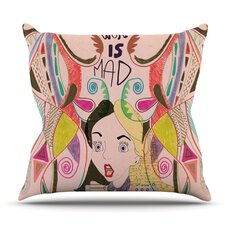 Discount Alice in Wonderland by Vasare Nar Outdoor Throw Pillow