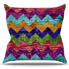 Natural Flow by Beth Engel Outdoor Throw Pillow
