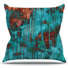 Rusty by Iris Lehnhardt Outdoor Throw Pillow