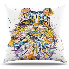 Leo by Rebecca Fischer Outdoor Throw Pillow